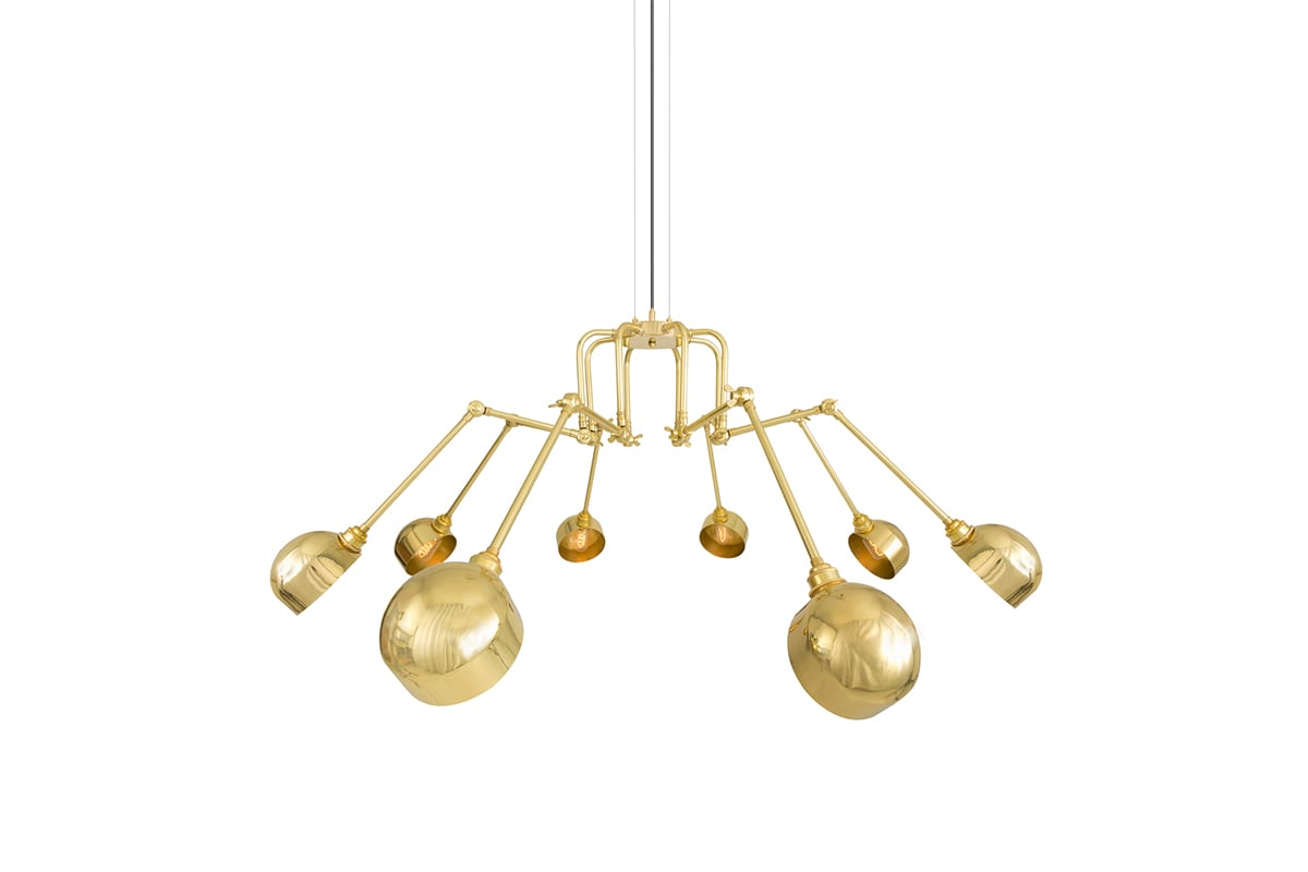 Image of: Five Contemporary Chandeliers For Above Your Kitchen Island Mullan Lighting