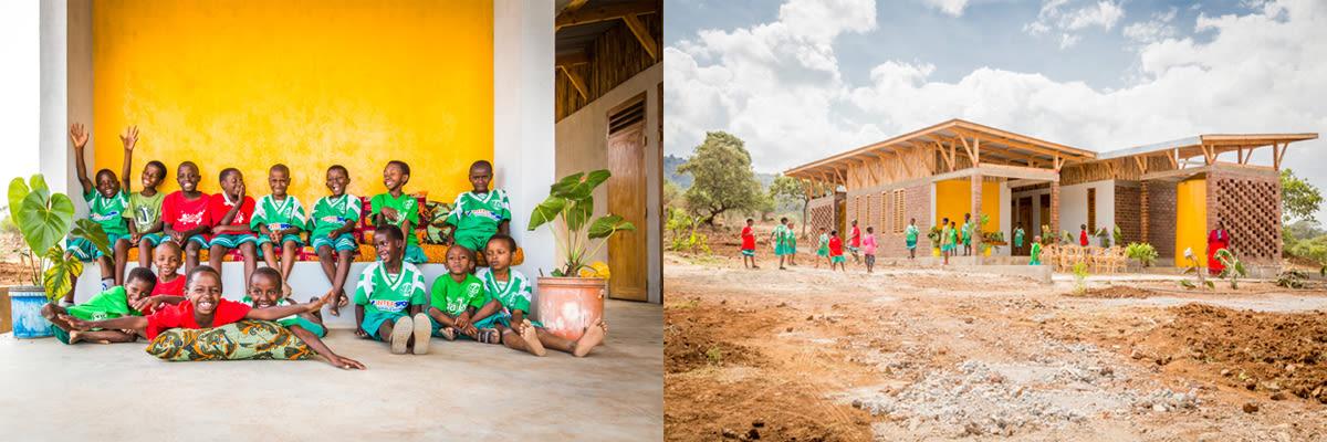 ECONEF's children's center in Tanzania