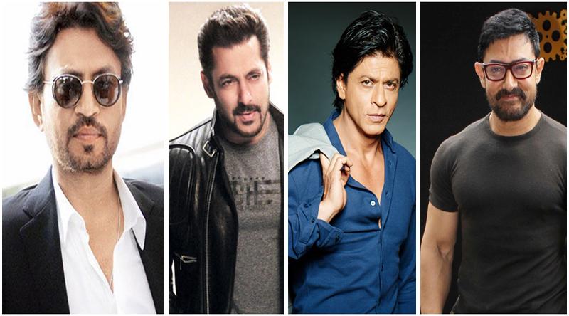 Irfan khan, SRK, Salman khan, Amir khan