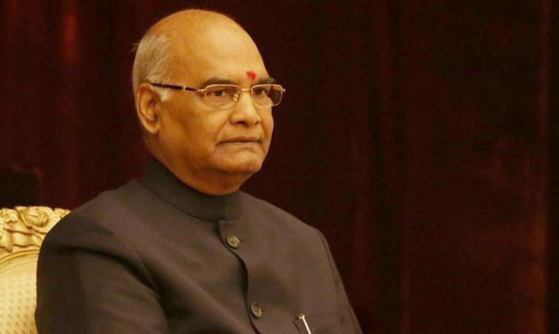 President Ram Nath Kovind, President