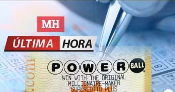 Powerball números ganadores sorteo millonario Powerball publica números ganadores de su sorteo del 5 de agosto