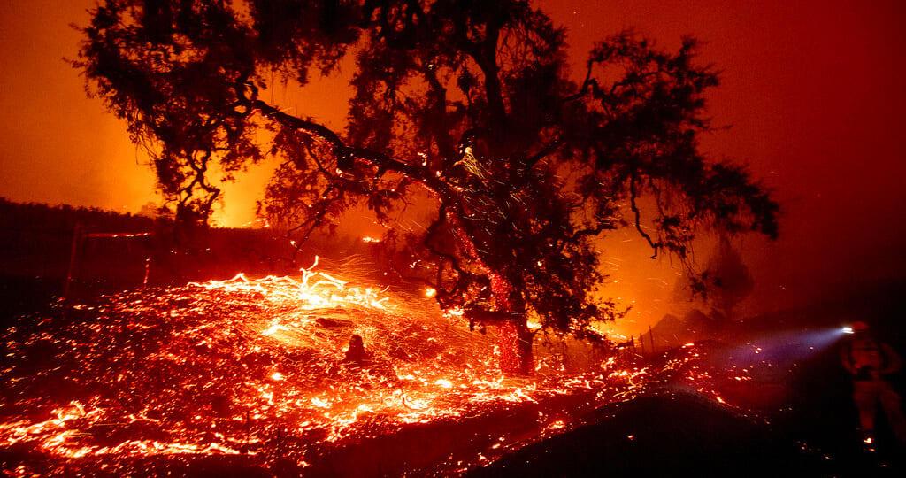 ICE incendios California