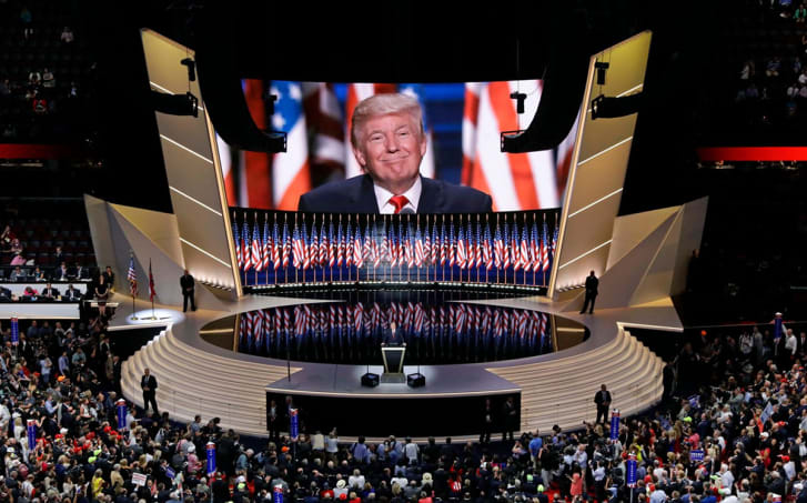 Trump Convencion Nacional republicana