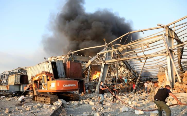 explosión en Beirut muertos