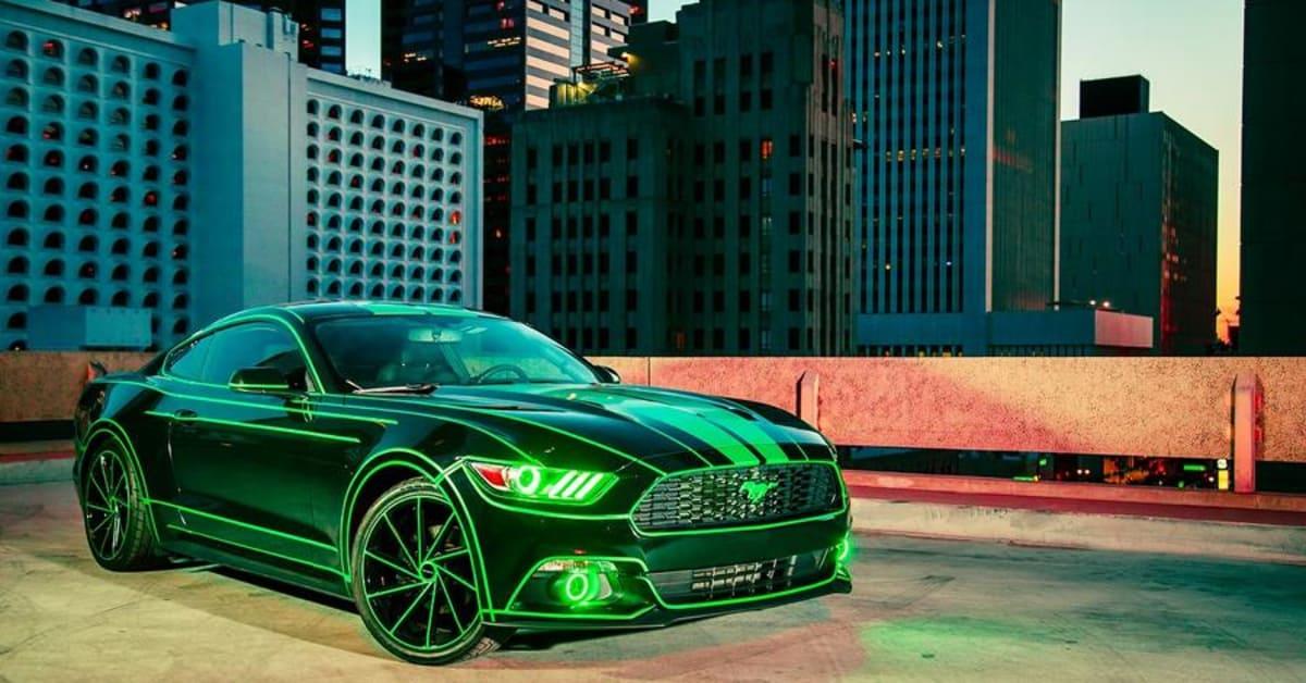 Un Ford Mustang se convierte en la flamante \'Máquina Verde\' (FOTOS ...