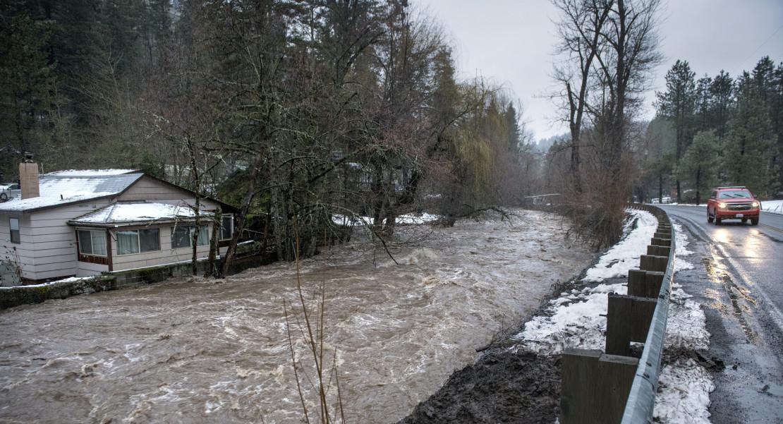 inundaciones Oregon