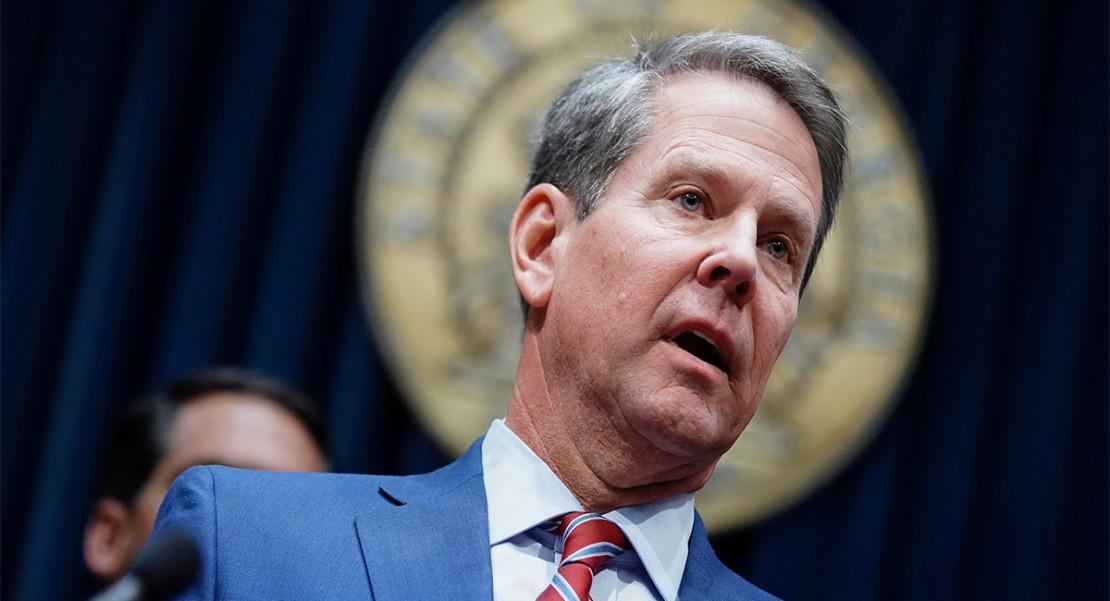 declaración de desastre Georgia, Gobernador Brian Kemp Coronavirus emergencia