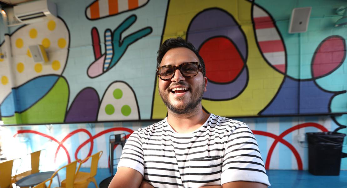 Rafael Pereira ideó Buteco Coffee & Bar pensando en los bocadillos, cócteles y sonidos de Brasil