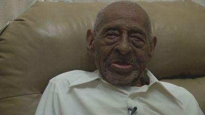 Frank Levingston cumple 110 años el fin de semana.
