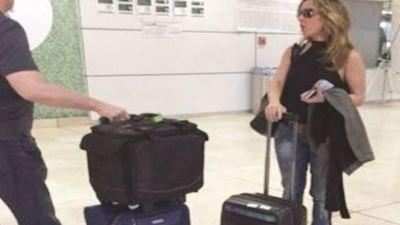 La inteligencia del Gobierno mexicano seguía a la actriz Kate del Castillo desde agosto de 2014, según reveló la prensa mexicana, que difundió esta imagen del 25 de septiembre. La actriz y amiga de El Chapo viajó a Guadalajara y allí se reunión con los abogados del narco. La idea era planificar un film sobre su vida.
