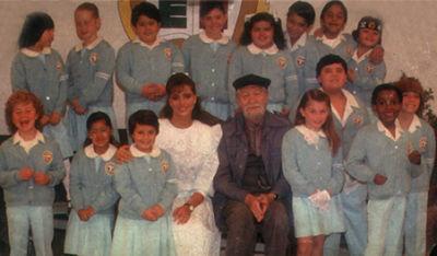 """Gran parte del elenco de la telenovela mexicana """"Carrusel"""" (1989) se reencontró tras 26 años de no verse. (Televisa)."""