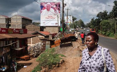 Kenia es la primera etapa de su primer viaje apostólico al continente africano, al que le seguirán Uganda y República Centroafricana hasta el próximo lunes 30 de noviembre, que regresará al Vaticano. (Getty Images).