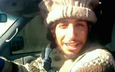 En esta foto sin fecha disponible en una página de internet de milicianos, se ve al belga Abdelhamid Abaaoud. (Militant Photo via AP).