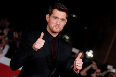 Michael Buble At Rome Film Festival