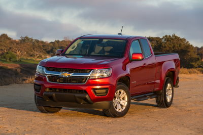 Chevrolet Colorado 2017. Foto: General Motors
