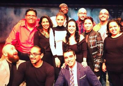 El elenco de Carrusel, telenovela de 1989 se reunió en el mismo escenario para develar la placa por 900 representaciones de una obra. (Instagram).