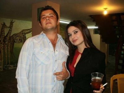 Rodolfo Mariscal y su prima Susana Lopez, quien lo acompañaba el día del incidente. Cortesía Facebook