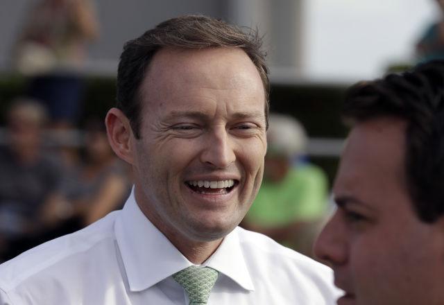 Congresista Demócrata Patrick Murphy. (AP Photo/Chris O'Meara)