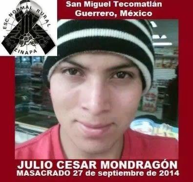 La búsqueda de los 43 dejó en el olvido el asesinato de Julio César Mondragón.