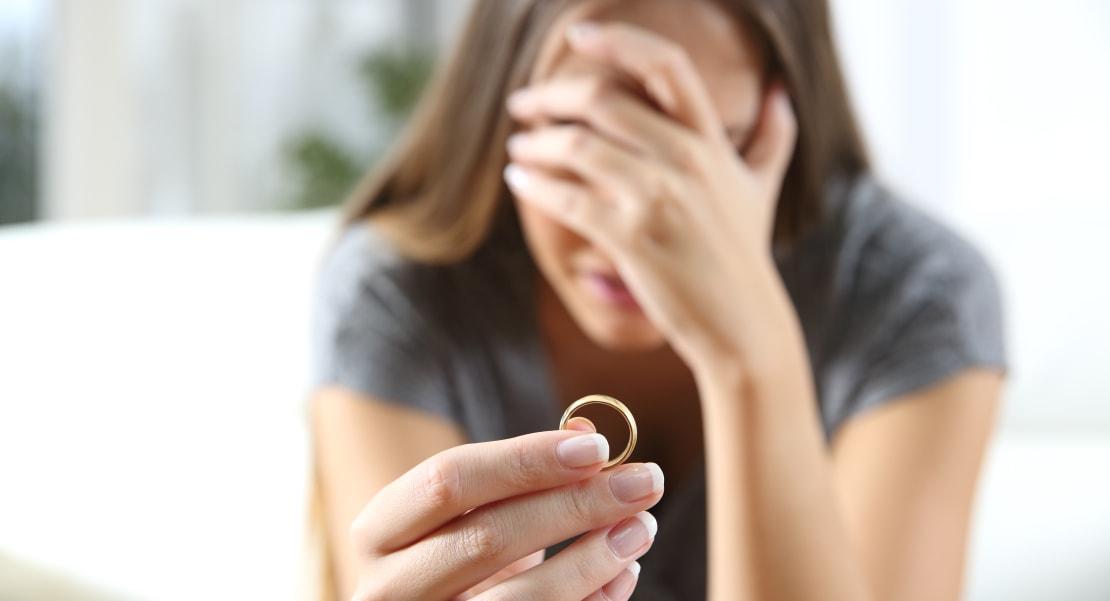 Foto causa divorcio Matrimonio en Estados Unidos
