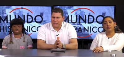Michell Pérez solicita ayuda económica a hispanos