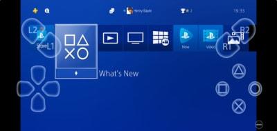 Remote Control PS4 Sony, controles