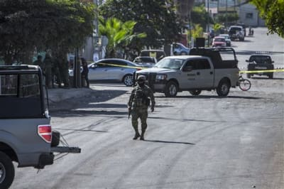 Foto de violencia en Mexico. Archivo de AP