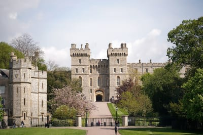 castillo de Windsor Príncipe Harry Meghan Markle