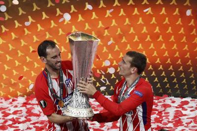 Atletico de Madrid campeón de la Liga Europa