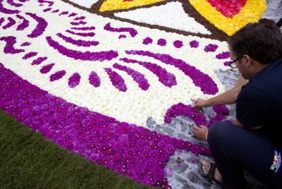 Bruselas alfombra floral