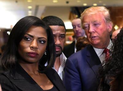 Omarosa y Donald Trump