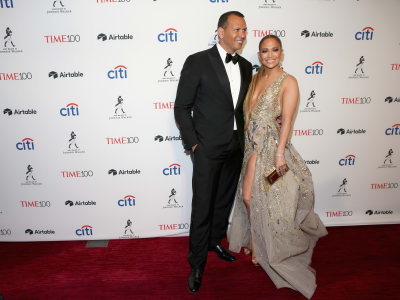 Jennifer Lopez Time 100 Gala