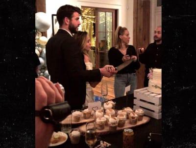 ¡Todo indica que Miley Cyrus y Liam Hemsworth se casaron!