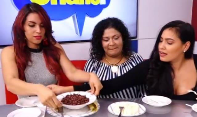 Reapareció #LadyFrijoles en Honduras y ¡comió frijoles!
