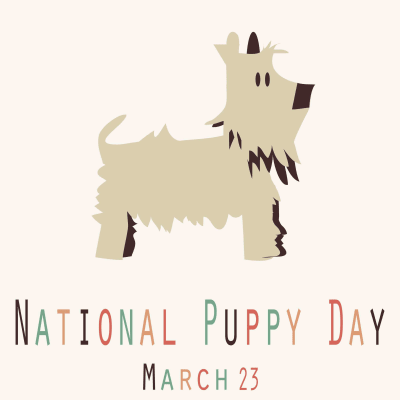 National Puppy Day 2018