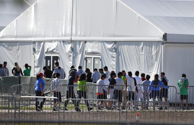 familias migrantes separadas