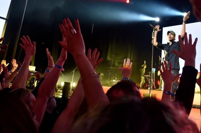 Concierto privado de la estrella mundial del pop, y ganador de varios Premios Billboard, Enrique Iglesias. (FOTO: NBCUniversal Telemundo Enterprises)
