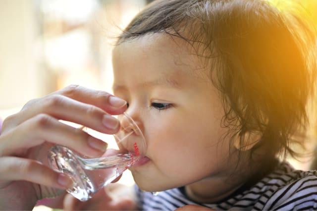 hidratar al bebé