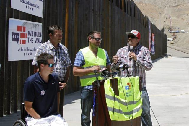 muro fronterizo privado