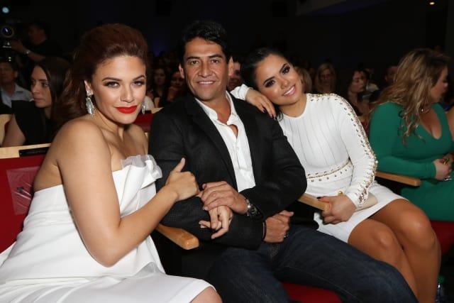 La serie 'Jenni Rivera: Mariposa de Barrio' es protagonizada por Angélica Celaya, Samadhi Zendejas y Gabriel Porras. (Foto: Telemundo Network)