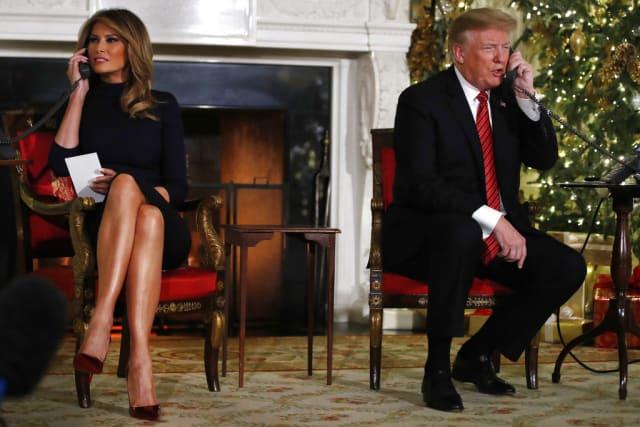 '¿Todavía crees en Santa?': Trump a un niño de 7 años