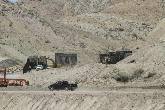 gringos Nuevo México muro fronterizo