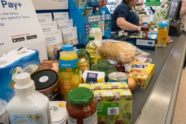 Supermercado cupones falsos