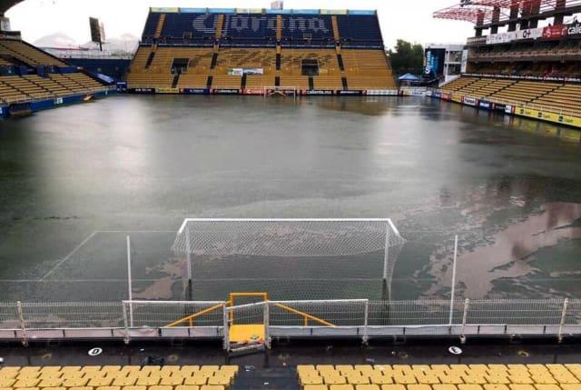 Maradona inundaciones