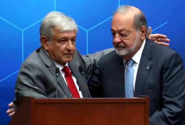 López Obrador Slim