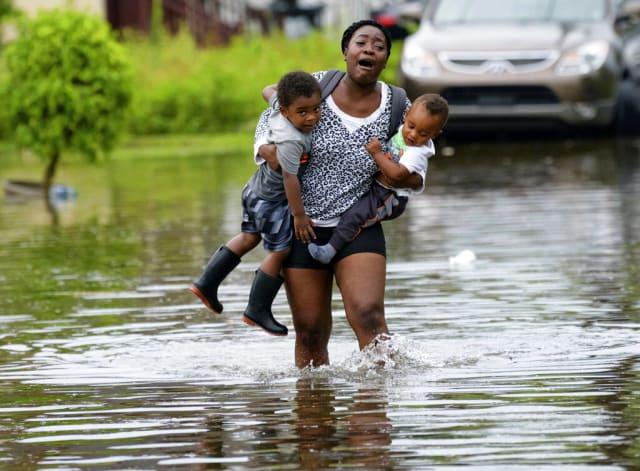 evacuar Luisiana tormenta tropical