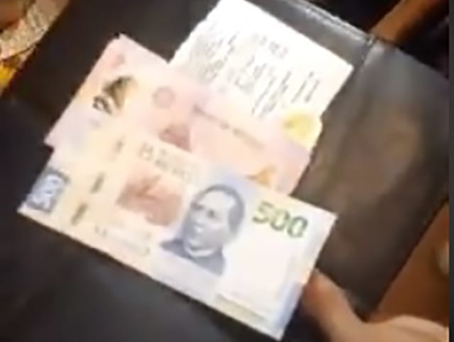 billete de 500 pesos billete de 20 pesos