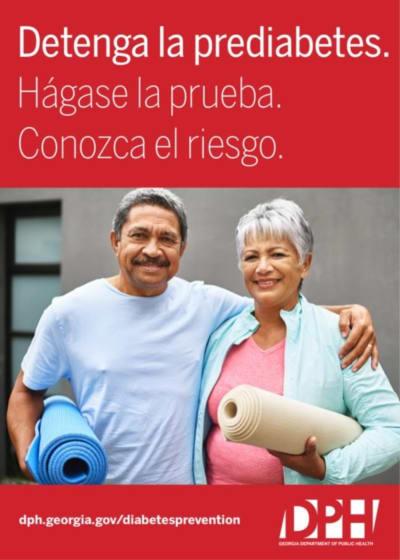 prediabetes CDC, programas de los CDC