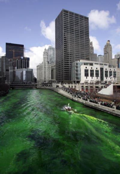 Día de San Patricio en Chicago
