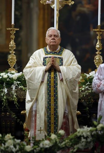 Foto de archivo del cardenal Bernard Law. FOTO: (AP)